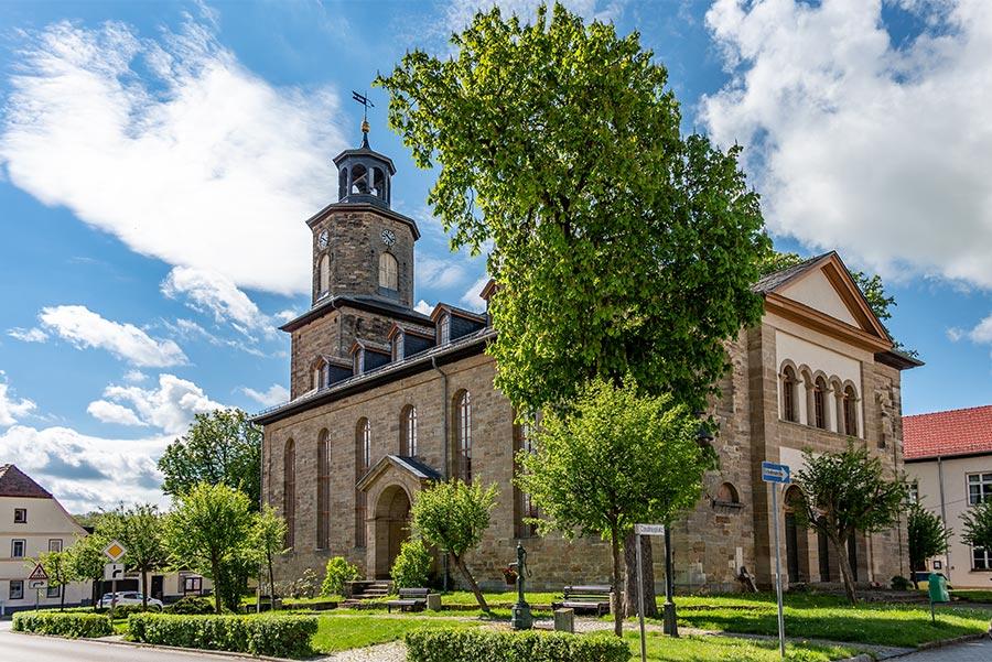 Coudray-Kirche Rastenberg